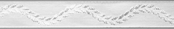 Meter Lotband, weiß, Ranke (Rolle à 50 m)