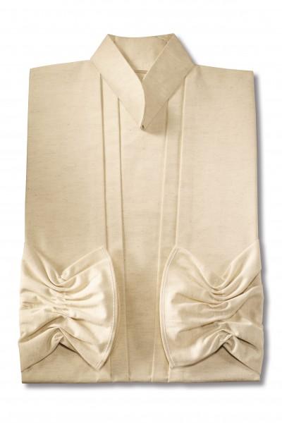 Damenkleid Nr. 461 Baumwolle natur