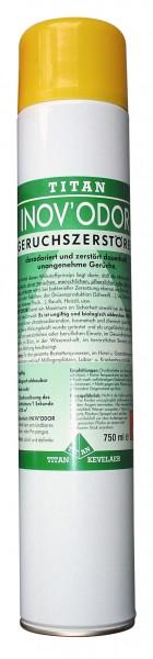 Sprühdose INOVO'DOR, 750 ml Geruchszerstörer, Zitrone
