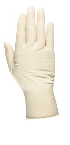 Packung Latexhandschuhe à 100 Stück, Premium, Größe L