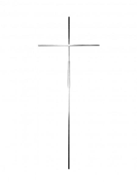 Gusskreuz Nr. 1711 vernickelt, ohne Korpus