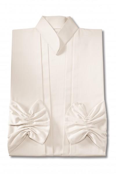 Damenkleid Nr. 461 Baumwolle elfenbein