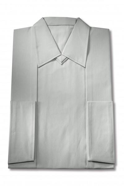 Herrenkleid Nr. 261 Baumwolle silbergrau