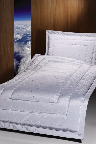 Deckengarnitur 01250 Karo blau, Steg